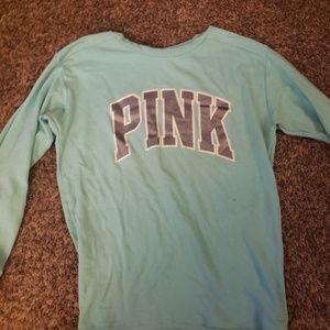 Pink sweater/shirt